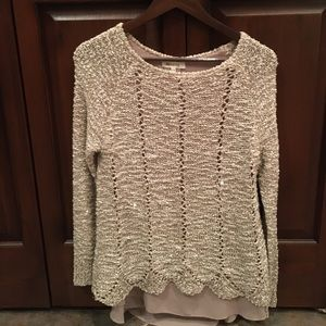 Miracle unique sparkly sweater